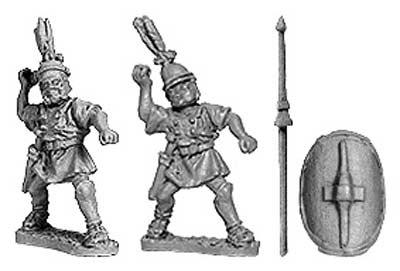 Hastati w/pilum (8 from 2 designs)