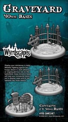 Wyrdscapes - Graveyard 40MM (2)