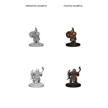 Pathfinder: Dwarf Male Barbarian
