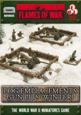 Gun Pits Log Emplacements: Winter