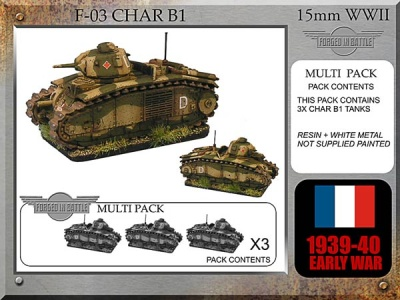 French Char B1 bis (3)