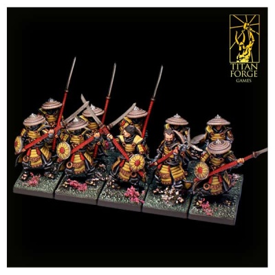Dragon Empire Ashigaru Spearmen (10)