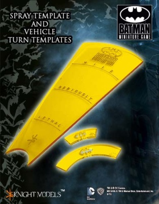 Batman Miniatures Game TEMPLATES