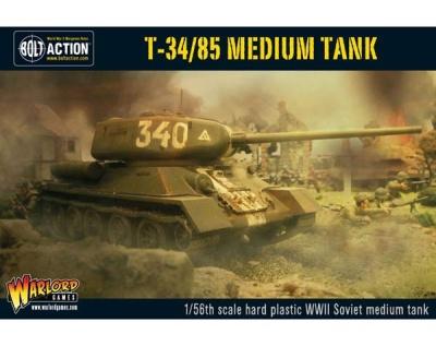 Soviet T34/85 Medium Tank (Plastic)