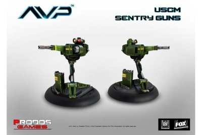 AVP: Sentry Guns (2)