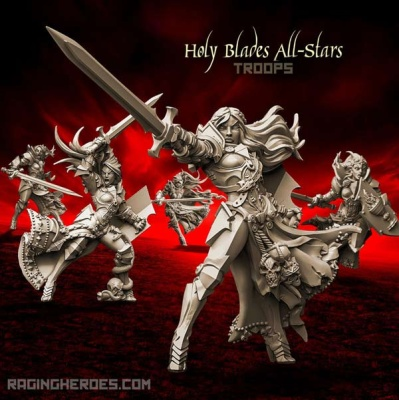 Holy Blades All-Stars - TROOPS (SotO - F)