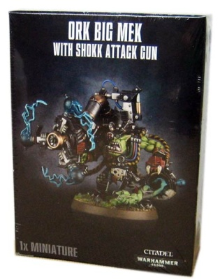 Ork Big Mek with Shokk Attack Gun (MO)