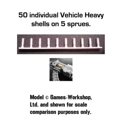 Spent Shell Castings: Vehicle Heavy (50)