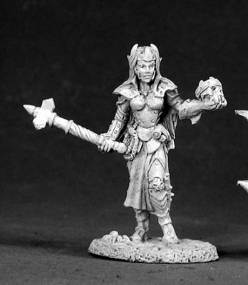 Female Dark Elf Cleric