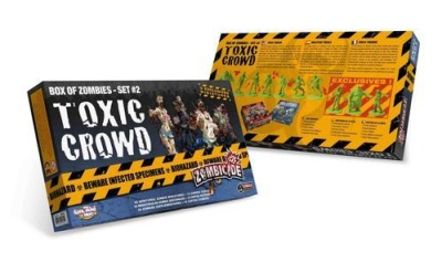 Zombicide: Box of Zombies Set # 2 - Toxic Crowd (24)