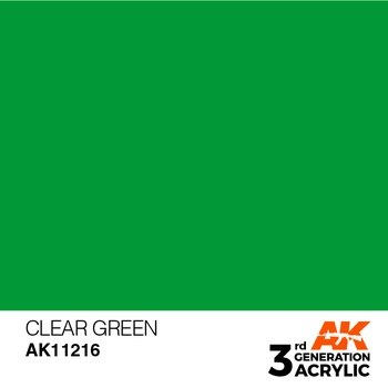 Clear Green 17ml