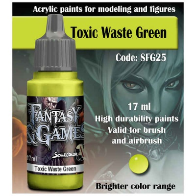 Scalecolor Fantasy 25 Toxic Waste Green(17ml)