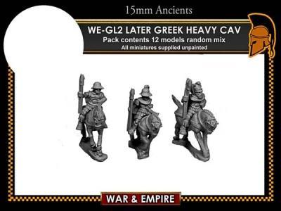 Later Greek/Thessalian Heavy Cavalry