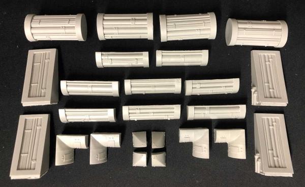 Pipes & Pillars Set