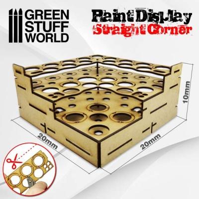 Modular Paint Rack - STRAIGHT CORNER