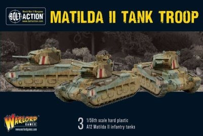 Matilda II Tank Troop (3)
