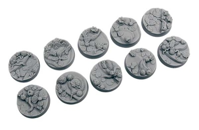 Agreda Bases, Round 25mm (5)