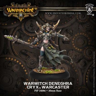 Cryx Warcaster Warwitch Deneghra Resculpt