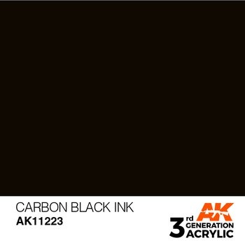 Carbon Black INK 17ml