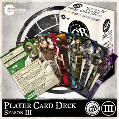 Season 3 Player Card Deck (engl.)