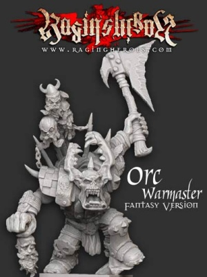 Orc Warmaster- Fantasy Version