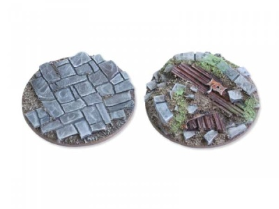 Viking raid Bases - 40mm flach