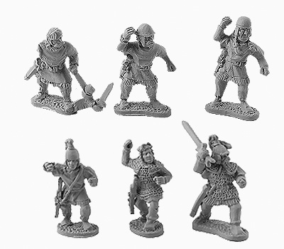 Celtiberian Warriors (8 of 6 designs)