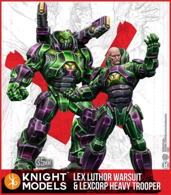 Lex Luthor Warsuit & Lexcorp Heavy Trooper