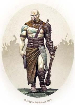 Masklad, Uklaud barbarian