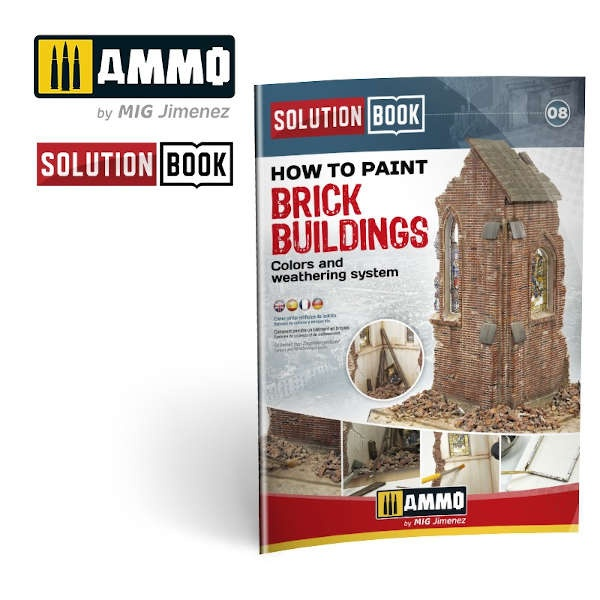 How to Paint Brick Buildings. Colors & Weathering System