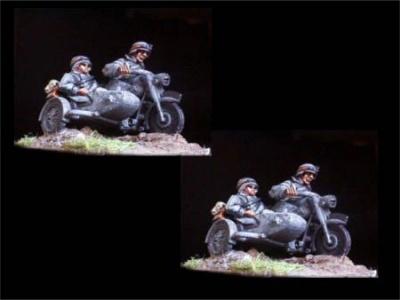 German Motorcycle Kombination