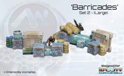 Crate Barricades (Set 2)