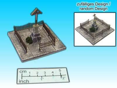 Geländestück Denkmal (15mm)
