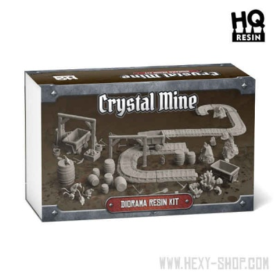 Crystal Mine - Diorama Resin Kit