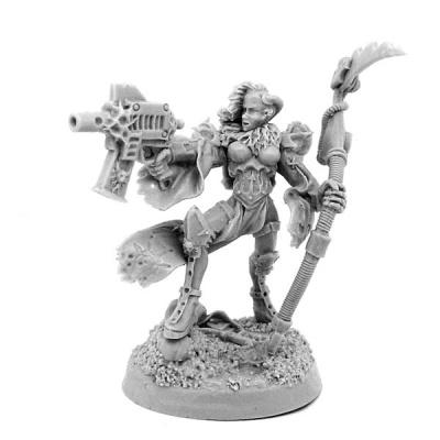 Chaos Renegade Sister w Scythe and Gun