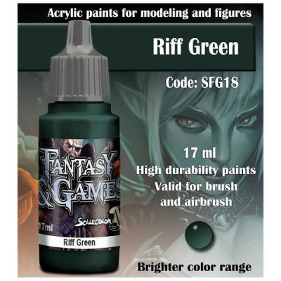 Scalecolor Fantasy 18 Riff Green (17ml)