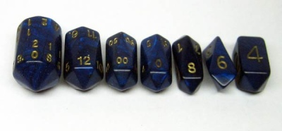 Crystal Caste Interference: Blue (7)