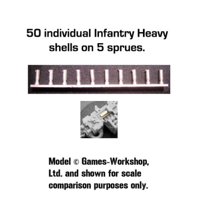 Spent Shell Castings: Heavy Infantry (50)