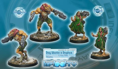 Dog-Warrior + Dogface (Chain Rifle, AP CCW) (AR)