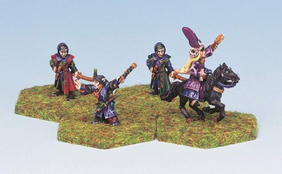 Dark Elf Magicians (4)