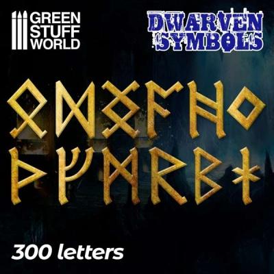 Dwarven Runes and Symbols (300)