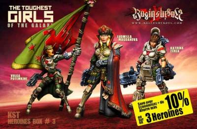 Heroines Box KST 3