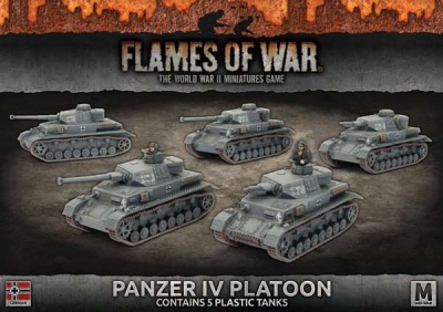 Panzer IV Platoon (Plastic)