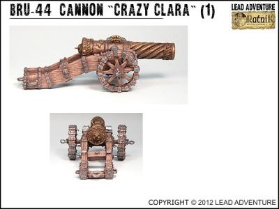 """Cannon """"Crazy Clara"""" (1)"""
