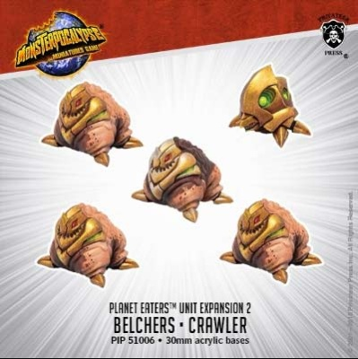 Belchers & Crawler: Planet Eaters Unit (resin)