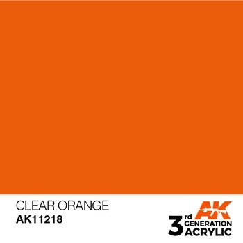 Clear Orange 17ml