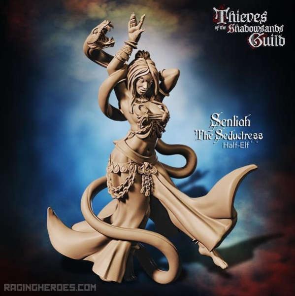 Senliah, the Seductress (T - F)