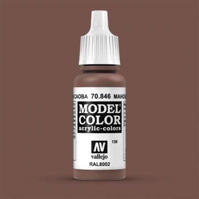 Model Color 139 Mahagonibraun (Mahogany Brown) (846)