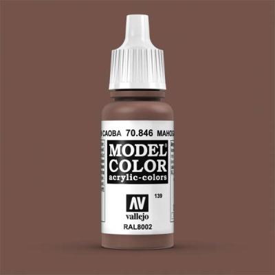 Model Color 139 Mahagonibraun (Mahogany Brown) (846)