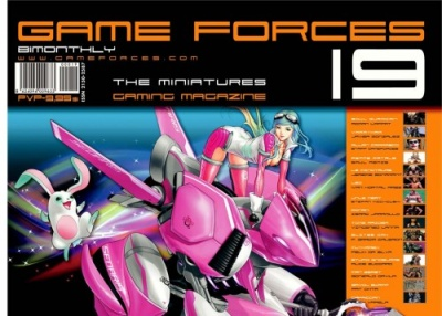 Game Forces Magazine 19 (englisch/spanisch)